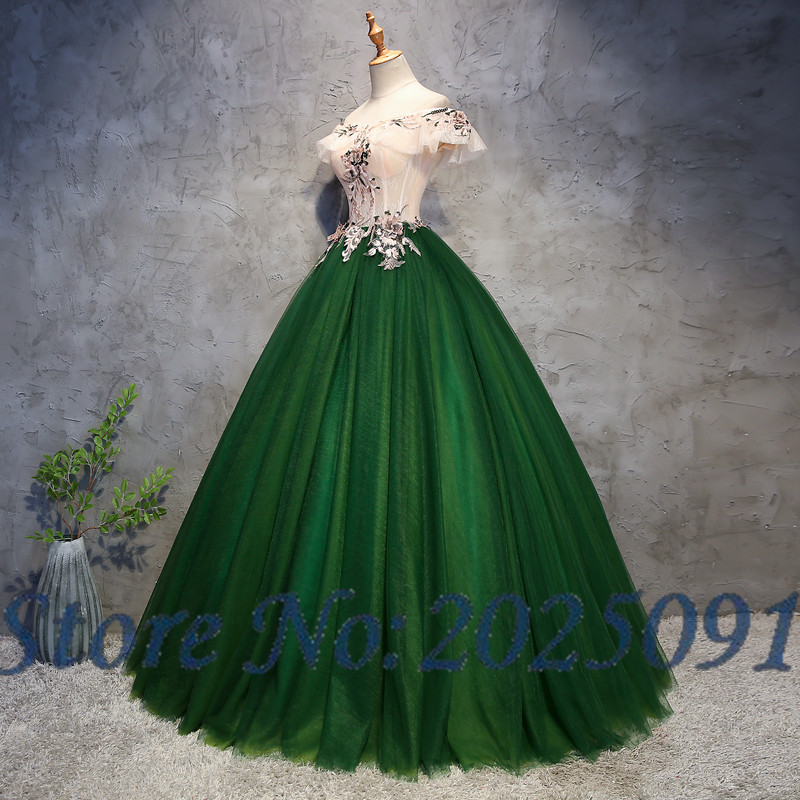 7d2252e2fda24 ᗑ】 Discount for cheap green bal gown and get free shipping - efjkj89f