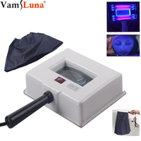 Lamp Skin UV Analyzer Facial Skin Testing Examination Magnifying Analyzer Lamp Machine with Protective Cover and Face Drape SPA
