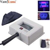 Lampe Haut UV Analysator Gesichts Haut Prüfung Prüfung Vergrößerungs Analyzer Lampe Maschine mit Schutzhülle und Gesicht Drapieren SPA