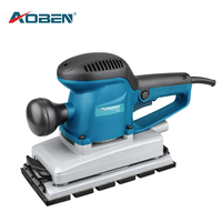 AOBEN Electric Sander Woodworking Polisher Wall Wood Paint Sanding Polishing Tool  with 8 Sheets of sandpaper