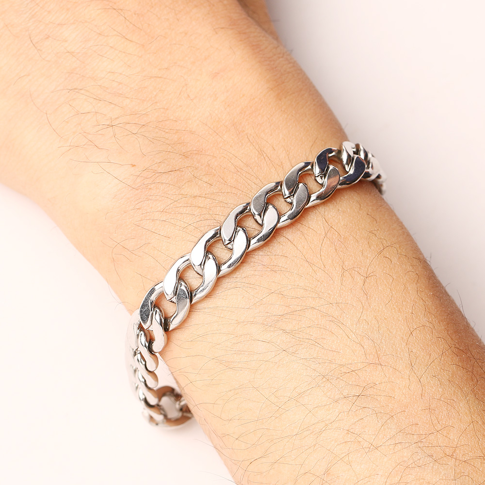 CACANA Stainless Steel Chain Bracelets For Man Women Gold Silver Color For Pendant 2.3NK Donot Fade Jewelry N1764
