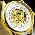 Ventas calientes Wacth de Primeras Marcas de Los Hombres de cuerda automática Reloj Mecánico Relojes Deportivos Hombres Relojes de Pulsera relogio masculino W1818