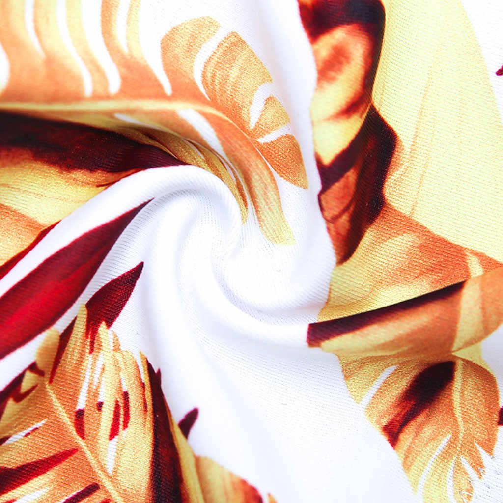 النساء طباعة الزهور تصفح ملابس السباحة ثوب السباحة الإناث Biquini Tankini Plavky خمر السباح البرازيلي مجموعة البكيني ملابس مايوه