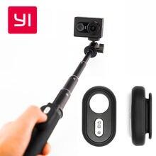 Selfie stick & bluetooth remoto para yi yi acción cámara 4 k cámara teléfonos móviles inteligentes yi oficial