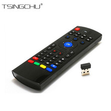100% Original 2.4G Wireless Remote MX3 Fly Air Mouse Keyboard With Mic Remote Control With Voice Micphone For Android TV Box PC