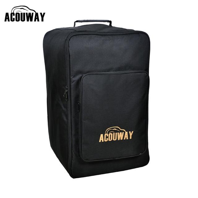 bd230889bdf0 Acouway Standard Adult Cajon Box Drum Bag Backpack Case 600D 10MM Padding  outdoor hiking sport camping backpack bag