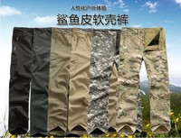 Freies verschiffen Heißer Verkauf V 4,0 männer Camouflage Lurker Shark Haut Soft Shell TAD V 4,0 Wasserdichte Hose