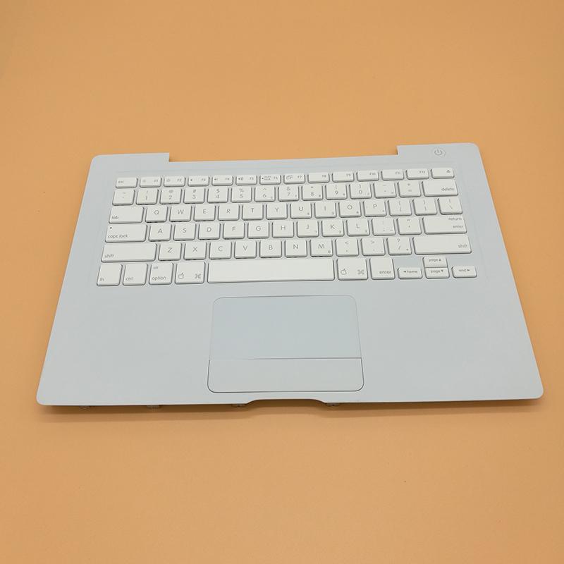 """Prix pour Véritable Utilisé NOUS Standard Top Case Repose-poignets Avec Clavier Avec Trackpad Pour Macbook 13 """"A1181"""