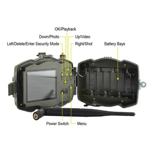 Image 2 - Bolyguard 3G Hunting Trail game Camera 30MP 1080PH Wireless Photo Trap Camera 100ft SMS MMS GPRS wild camera chass thermal image