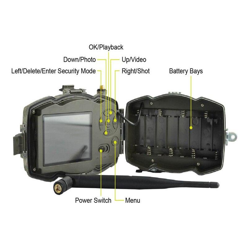 Image 2 - Bolyguard 3g охотничий Трейл игровая камера 36MP 1080PH Беспроводная фотокамера 100 футов SMS MMS GPRS Дикая камера chass тепловое изображение-in Камеры для охоты from Спорт и развлечения