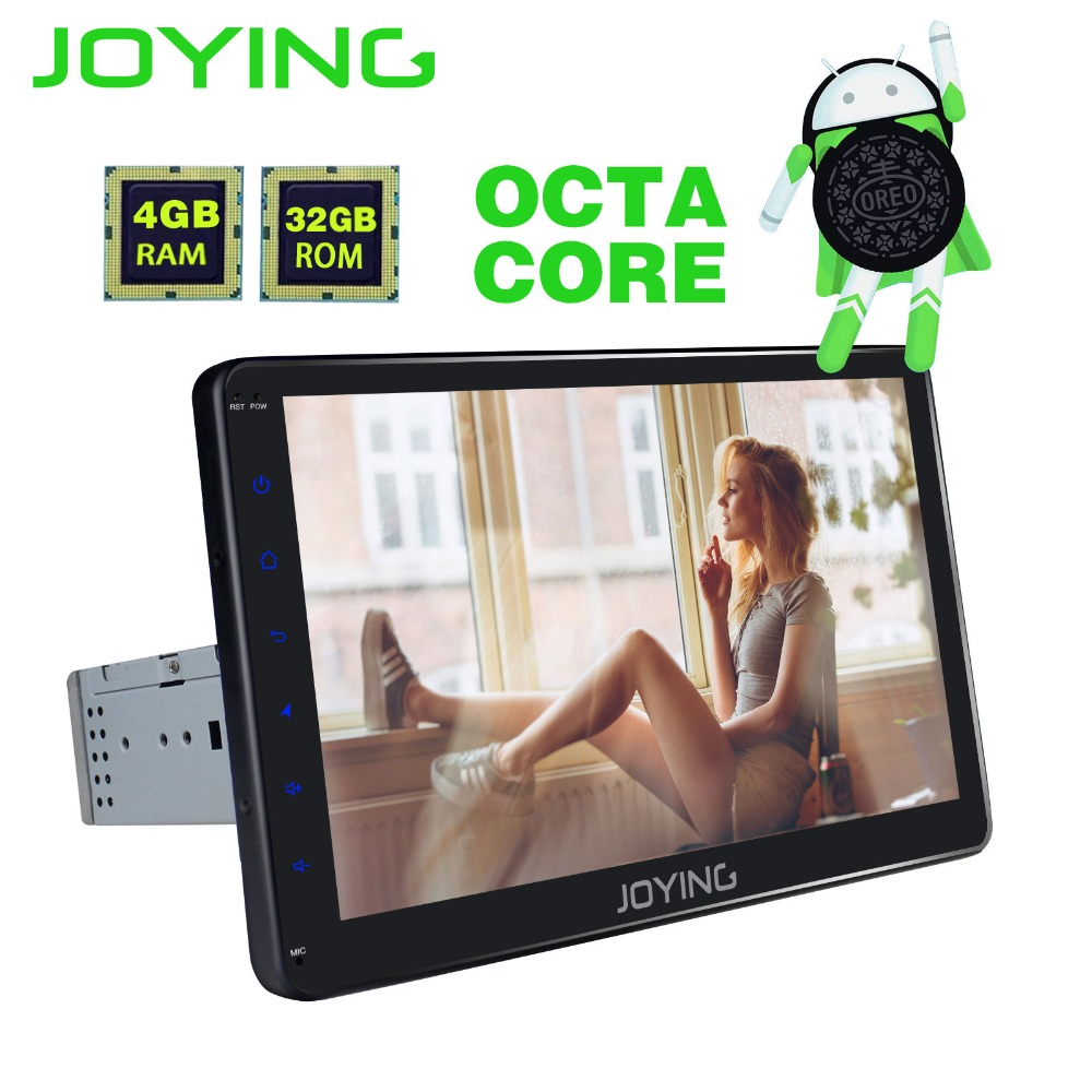 10.1 TDA7851 Simple Din Android 8.0 Tête Unité 4 gb + 32 gb Universel De Voiture Radio Stéréo Magnétophone GPS Aide à la Navigation Carplay