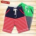Ropa Para Niños Baby Boy Pantalones de Rayas Meney Kid Bebé de Surf Board Shorts Nadada de la Playa de Los Niños Deportes de Verano troncos Cortos