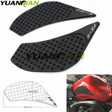 Check Discount For Yamaha FZ6N 2006 2007 2008 2009 2010 FZ 6N FZ6 N Protector Anti slip Tank Pad Sticker Gas Knee Grip Traction Side 3M Decal
