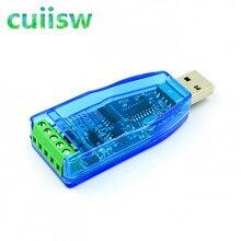 USB Industrial Para RS485 CH340G Conversor Conversor de Proteção de Atualização RS-485 UM Conector Padrão de Compatibilidade Módulo Board