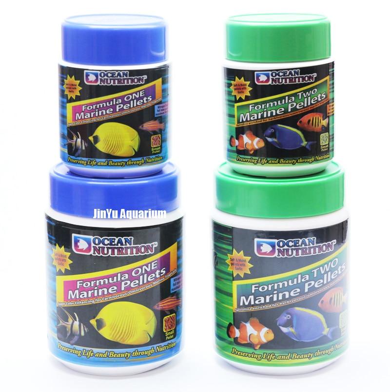 Marine pellet granules fish food ocean nutrition sea reef for Saltwater fish food