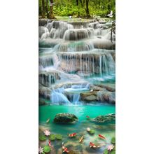 Waterfall Landscape  5D Full Drill Diamond Painting Embroidery Cross Stitch Kit Rhinestone Home Decor Craft