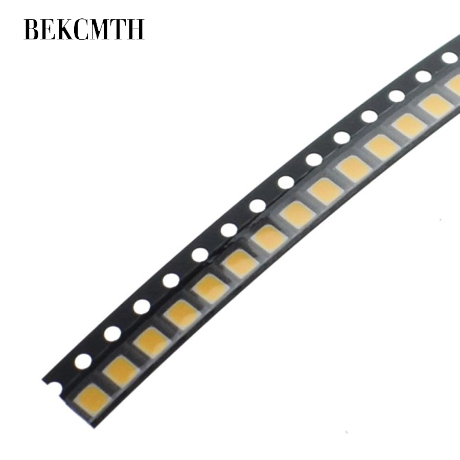 BEKCMTH 100PCS LED Chip SMD LED 2835 White Warm White Chip 0.2W 3.0-3.2V 60mAh Light-Emitting Diode LED Backlight TV Application