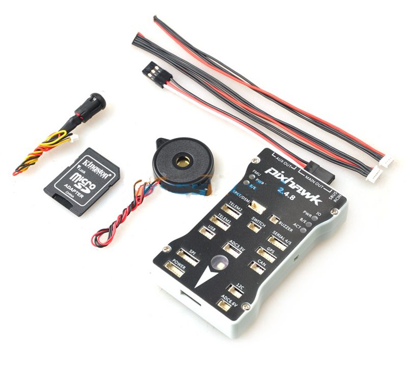 Pixhawk PX4 2.4.8 New Version 32bit Flight Controller Set FC w/Buzzer Safe Switch For FPV RC Drone Multirotor Fixed Wing