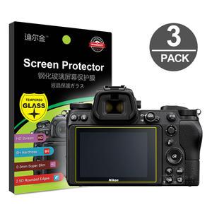 Screen-Protector Tempered-Glass D5600 D7200 Nikon Z5 Z6-Ii for Z6-ii/Z7/Z50/.. 3x