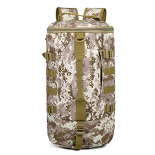 Large Capacity Outdoor Army Hiking Camping Climbing Travel Bag Tactical Rucksack Military Backpack Sports Shoulder Bucket Bag