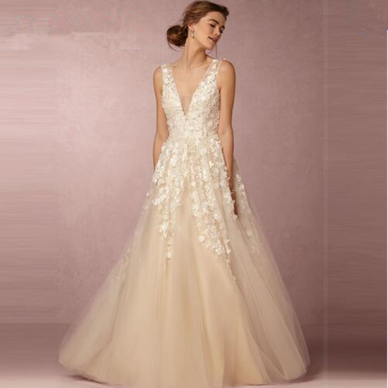 manufacturers v neck bridal dress from reliable dress wire suppliers