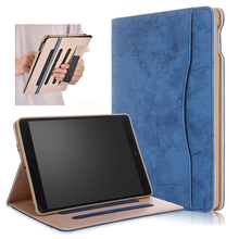 купить Funda For ipad Air Air 2 Case PU Leather Tablet Cover For ipad 2018 2017 Case Soft TPU Back Smart Cover For ipad 9.7 5th 6th дешево