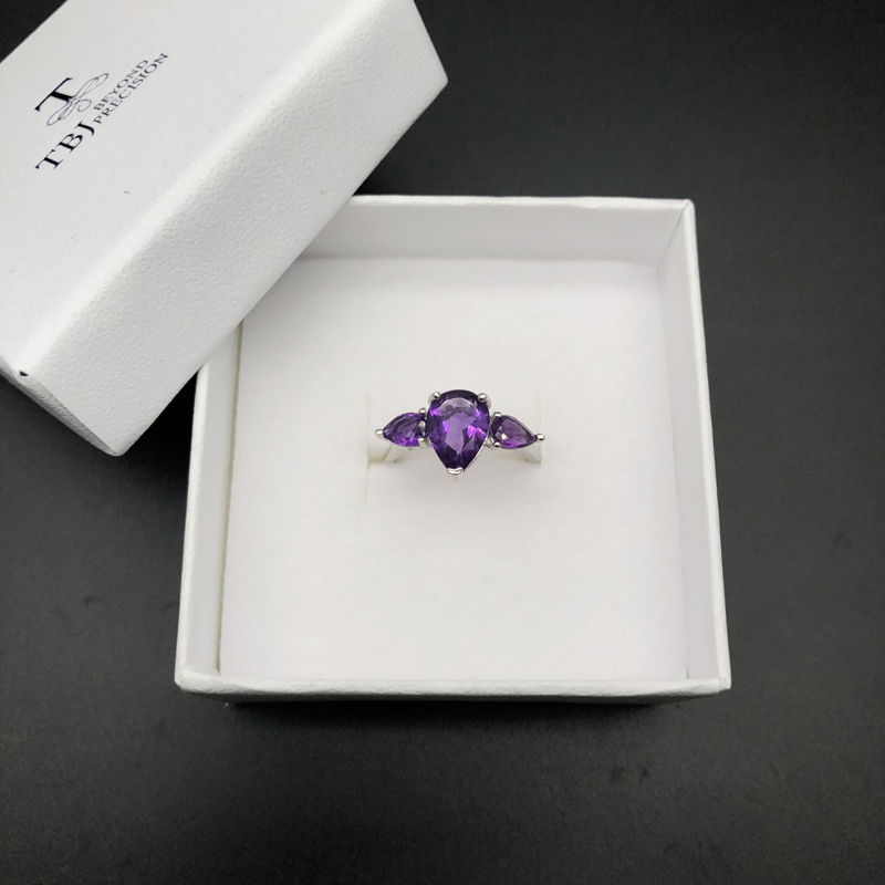 Details about  /AAA AFRICAN AMETHYST Pure 925 Solid Sterling Silver Handmade Jewelry RING