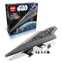 EN STOCK LEPIN 05028 3208 PCS Star Wars Execytor Super Star Destroyer Modèle Kit de Construction Bloc Brique Jouet Cadeau Compatible 10221