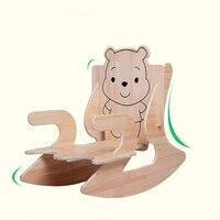 Креативные Детские Носки с рисунком медведя из мультика детский стул дуб деревянное кресло качалка можно разобрать DIY стульчики Детские ин