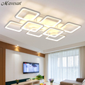 Remote control living room restaurant indoor light led ceiling lights luminarias para sala dimming ceiling light free shipping