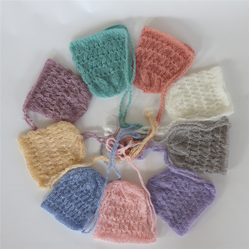 Various Colours Handmade Crocheted//Knitted Baby Spring Bonnets Age 0-3 Months