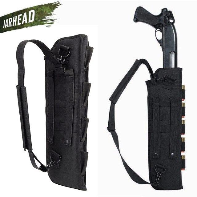 Tactical Rifle Gun Bag Military Shotgun Handbag Scabbard With Shoulder Handbag for Hunting Camping Outdoor Weapon Gun Bag