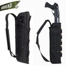 Taktik tüfek tabanca çantası askeri av tüfeği çanta kın ile omuz çantası avcılık kamp için açık silah silah çantası