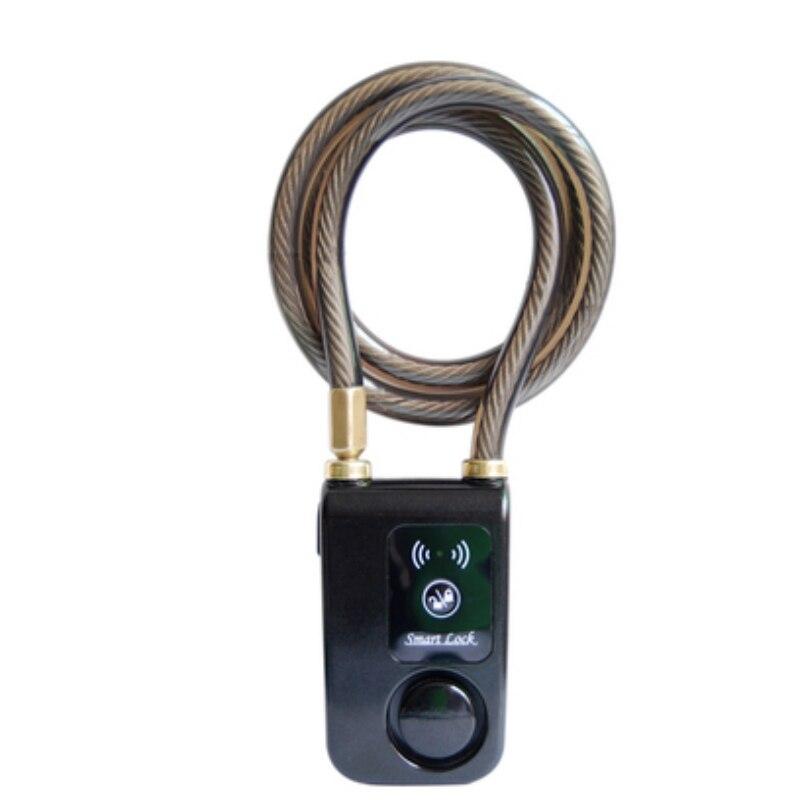 Verrouillage intelligent Bluetooth avec alarme vélo serrure intelligente vélo/moto verrouillage sans clé APP contrôle