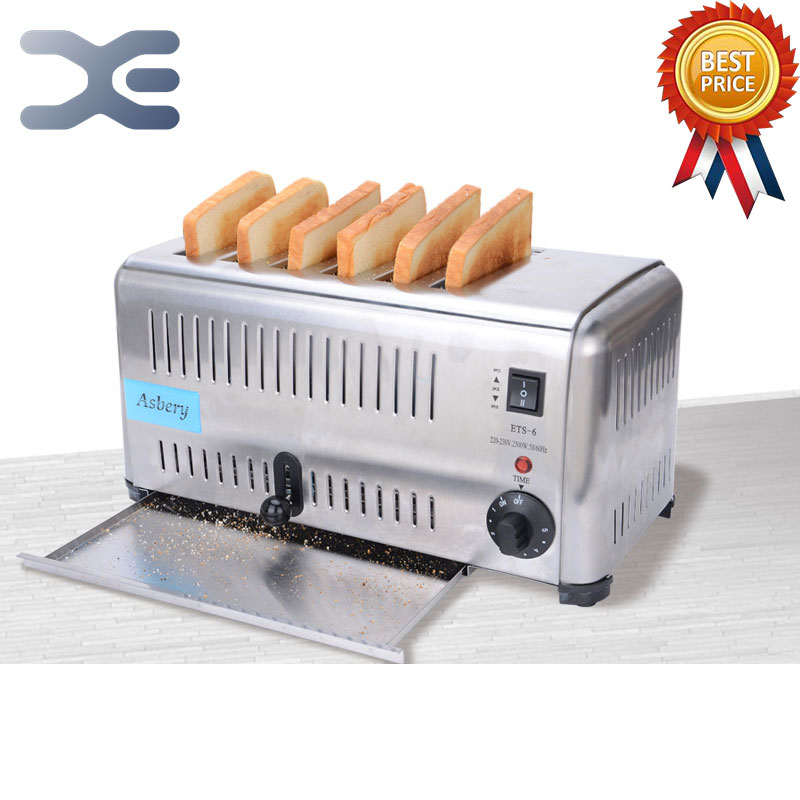 High Quality Commercial Full Automatic Centek Toaster Oven Home Appliances Toaster Bread Machine