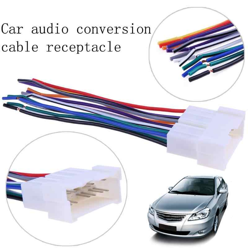 2001 mitsubishi mirage wiring harness part car stereo cd player wiring harness radio adapter install plug for  car stereo cd player wiring harness