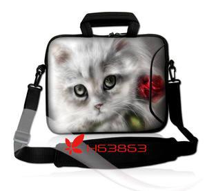 Сумка для ноутбука с кошкой 15,6