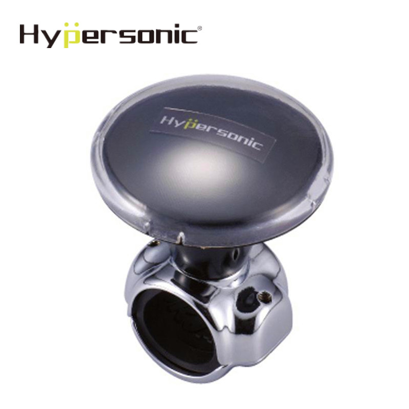 Hipersónico negro del coche rueda Spinner mando agarre fácil la conducción segura