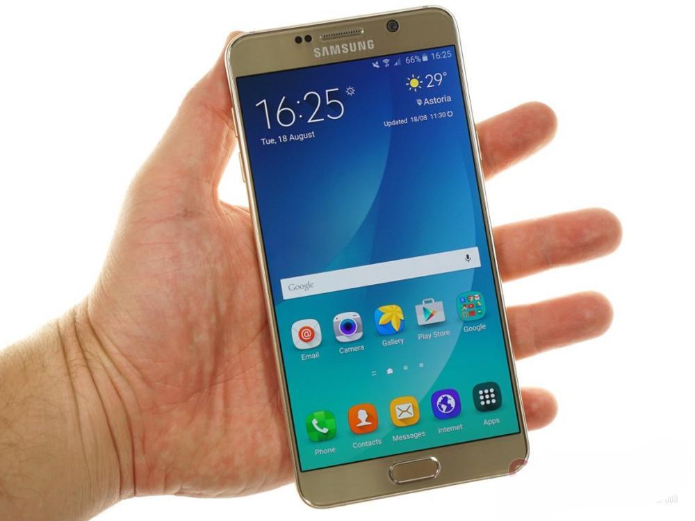 Samsung Galaxy Note 5 N920A/T noyau Octa 5.7 pouces 4 go de RAM 32 go ROM 16.0MP LTE 4G Android téléphone mobile débloqué - 6