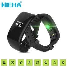 Hieha Смарт Спорт Фитнес Tracker Пульсометр Bluetooth Браслет Шаги Трекер Браслет Часы для IOS Android