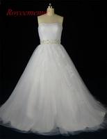 2017 New Design Lace Wedding Dresses Vestidos De Novia Organza Bridal Gown Custom Made Factory Supply