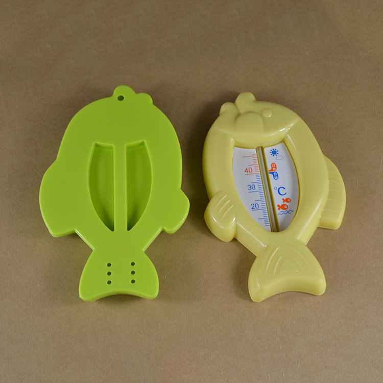 Lovely Fish Plastic Water Temperature Thermometer Baby Water ...
