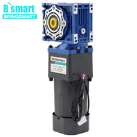Bringsmart 220V AC motor 120W adjustable speed forward and reverse motor gear motor gear motor