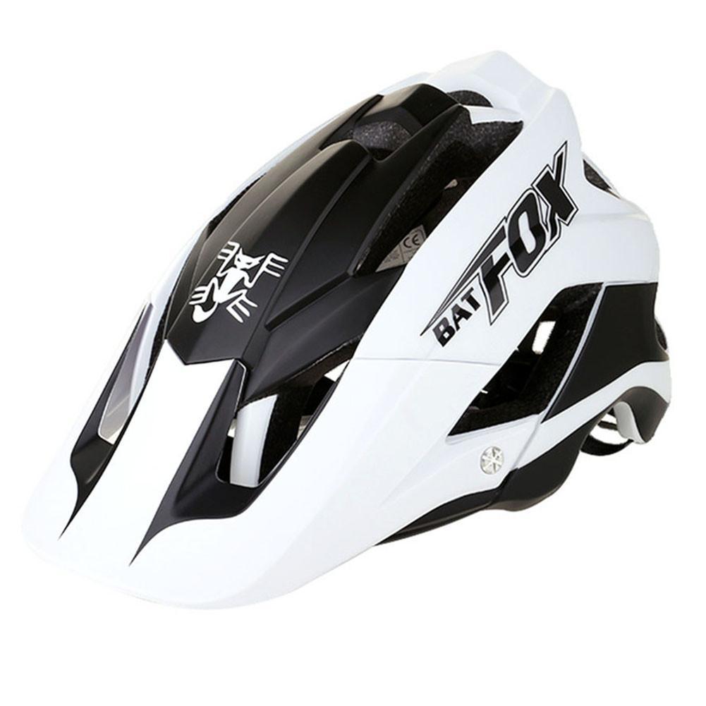 BAT FOX Bicycle Helmet Riding Helmet Mountain Bike One-Piece Riding Helmet US