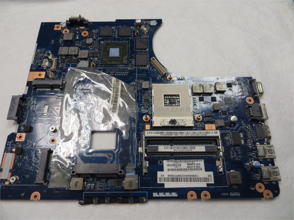 SHELI laptop Motherboard for Lenovo y580 LA-8002P with 8 video memorys non-integrated graphics card 100% tested Fully