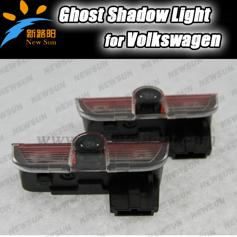 Direct fit LED Cardoor courtesy laser projector Logo Ghost Shadow Light For Volkswagen Golf Jetta MK5 Passat CC Scirocco Polo car door welcome laser projector logo door ghost shadow led light for vw volkswagen tiguan golf 5 6 7 passat b7 eos etc