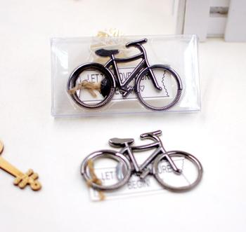 100pcs/lot Bicycle Metal Beer Bottle Opener Cute key rings for bike lover Wedding Anniversary Party Gift Bike keychain Brand New