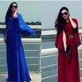 Бесплатная Доставка 2017 женская Мода Элегантный Плащ Полный Dress Длинная Расширение Нижней Цельный Dress