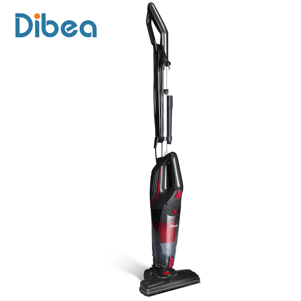 Dibea SC4588 con cable aspirador con Handheld colector de polvo cepillo multifuncional palillo del hogar aspirador