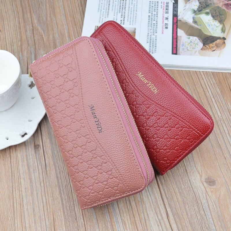 Women's Wallet Women Purses Women's Fashion Clutch Long Phone Thin Leather Wallet Coin Purse For Women Female Wallets